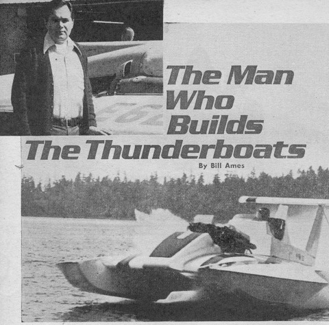 The Man Who Builds The Thunderboats - Hydroplane and