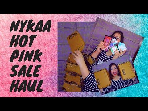 Nykaa Hot Pink Sale 2020  Huge Shopping Haul Nykaa   Is it Worth the Hype?   Kanika Sharma