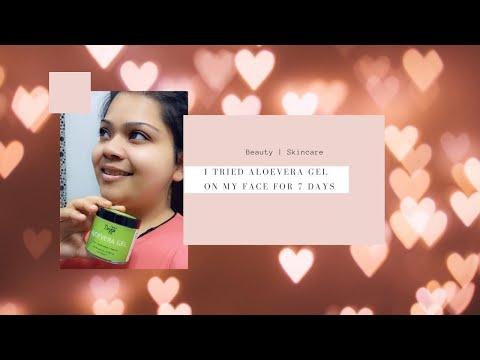 Deyga Aloe Vera Gel Review | Applied for 7 consecutive Days, See the Result | Kanika Sharma |