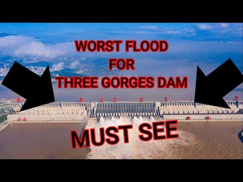 THREE GORGES DAM INTENSE FLOODING