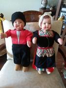 Wood Dutch Dolls