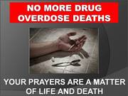 "29th Annual ""Just Pray NO!"" to drugs Worldwide Weekend of Prayer and Fasting"