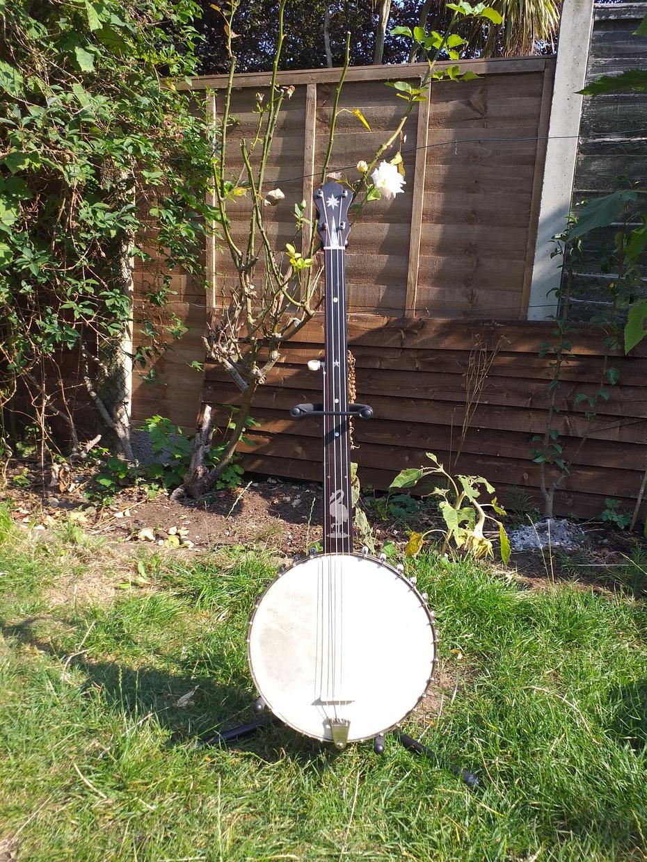 George p matthews fretless banjo