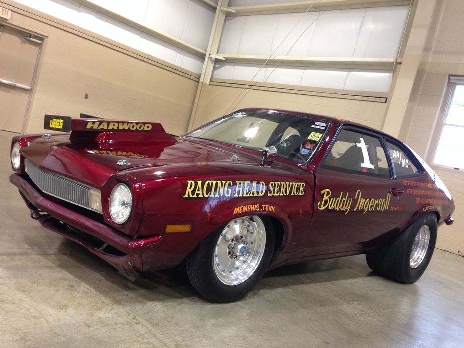 Indoor National Dragfest 2019 turbo Pinto