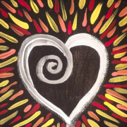 Hearts and Flowers Art Show