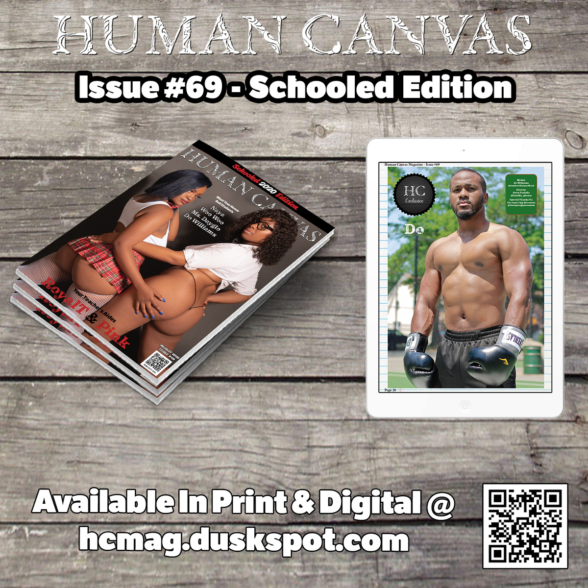 Human Canvas Magazine - Issue #69