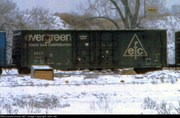 Evergreen Boxcar