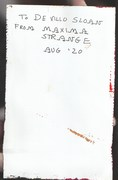 Mail art by Maxima Strange (Bradner, Ohio, USA)