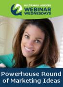 Powerhouse Round of Marketing Ideas