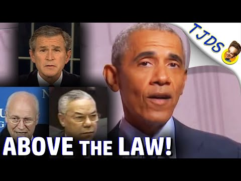 "OBAMA Says ""Nobody Is Above the Law""!"