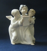 Lladro Figurine of Three Angels Singing - Matte Finish #4542