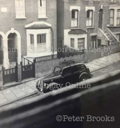 St. Mary's Road, Hornsey, looking east, c1960
