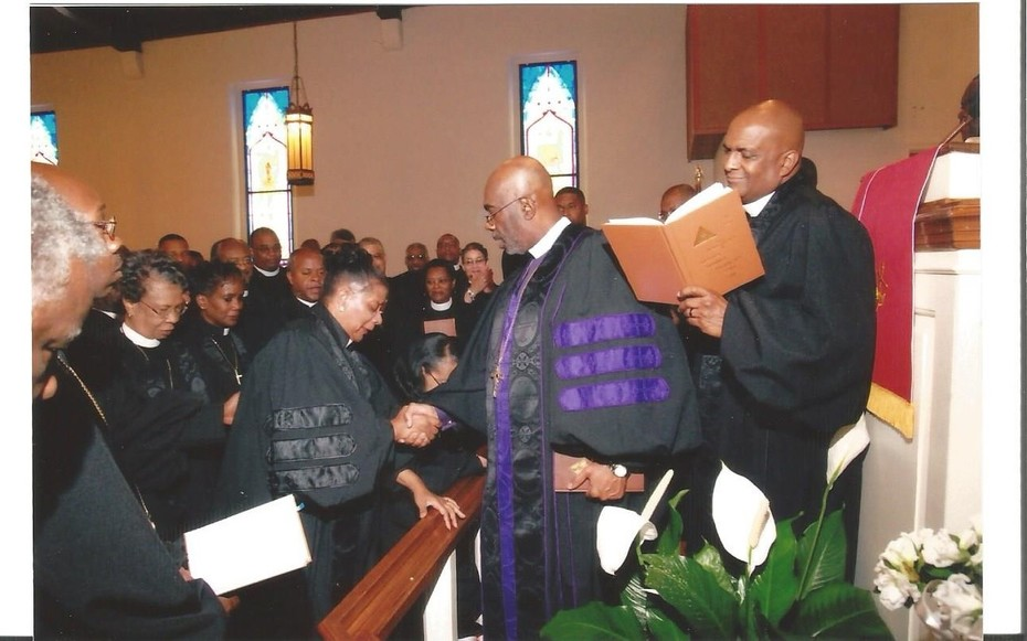 REV. DR. MARTHA ANDREE IS CONFIRMED AS ORDAINED ELDER AT THE TENNESSEE AME ZION CONFERENCE