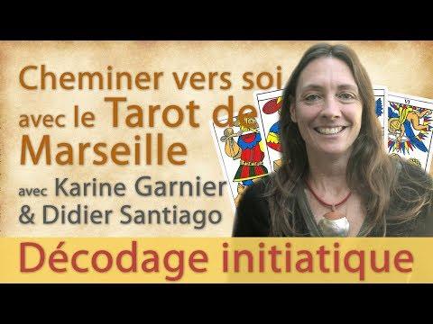 Initiation au Tarot de Marseille en ligne avec Karine Garnier