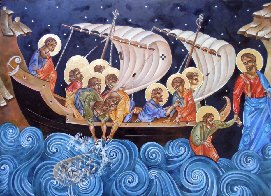 Disciples on the Water