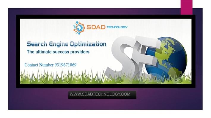 SEO Services 9319671069 in Noida-SDAD Technology
