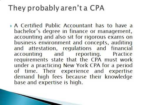Tax Relief R Us - New York State CPA