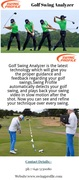The Best Golf Swing Analyzer  from Swing Profile