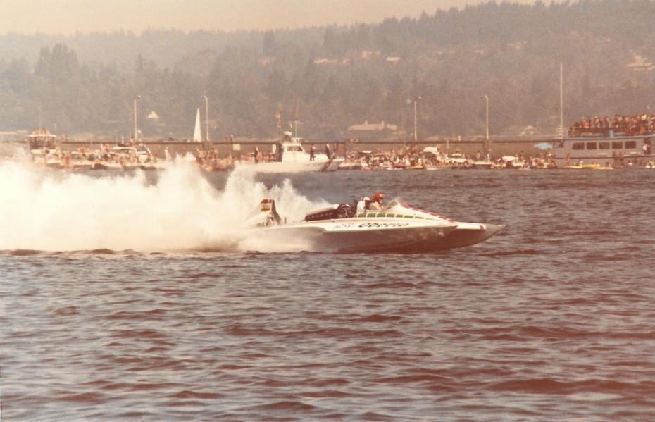 8-9-1981 Gold Cup Seattle  Heat 2B  Oh Boy! Oberto
