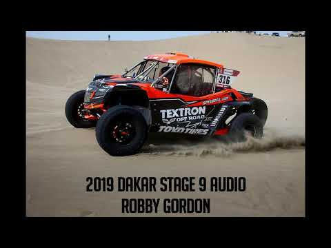 2019 Dakar Stage 9 Audio - Robby Gordon