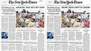 NYT turns Real News into Fake Nooz cuz Orange Man Bad