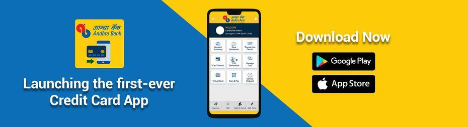 Creditcard-app Andhra Bank
