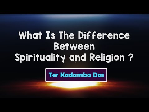 Spirituality vs Religion: The Future of Truth | Ter Kadamba Das