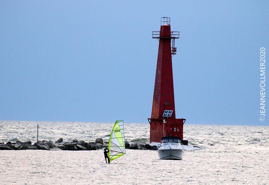 Sept 7 2020 Marquette breakwater