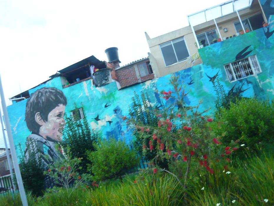 El Mural Mas Bello Que He Visto en Mi Vida ...O... 3