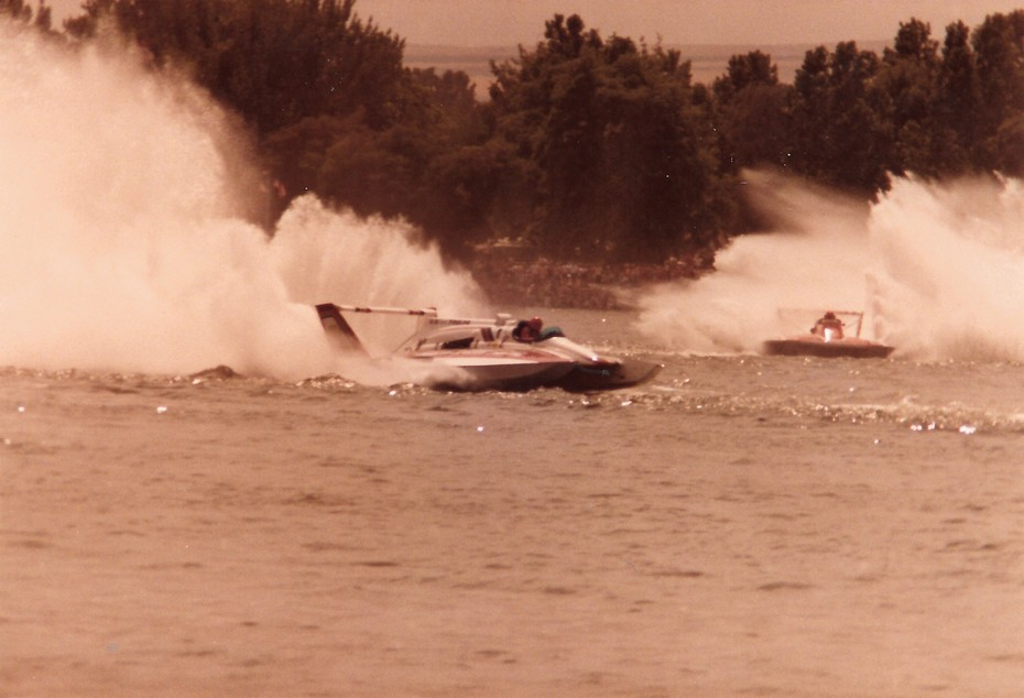 7-31-1983 Tri Cities Heat 2A  American Speedy Printing, Squire Shop