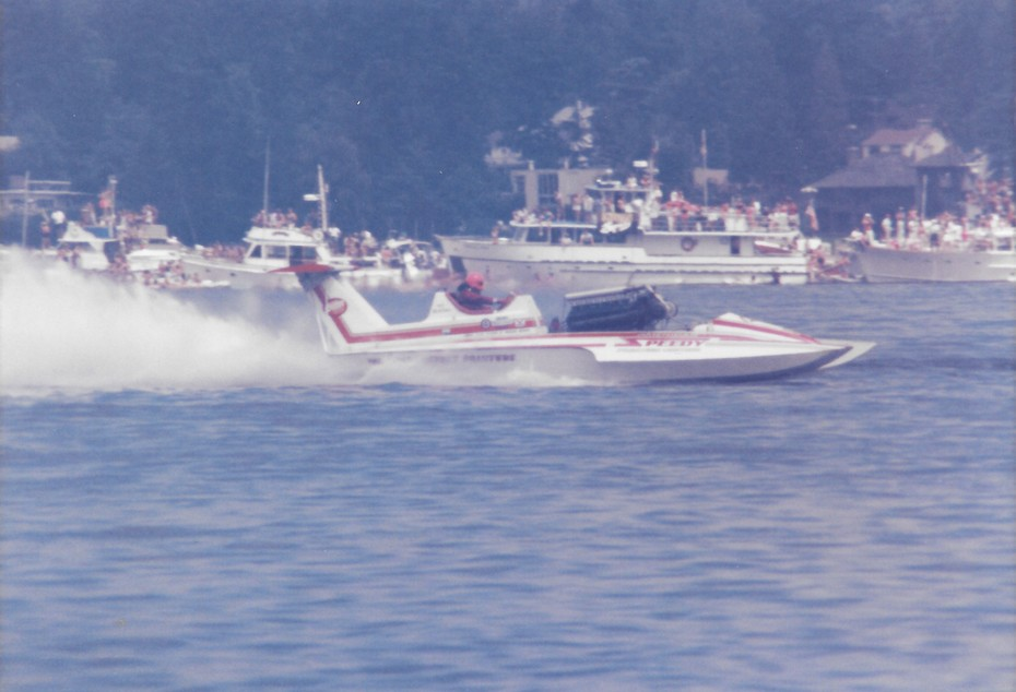 8-4-1985 Gold Cup Seattle  American Speedy Printing  2