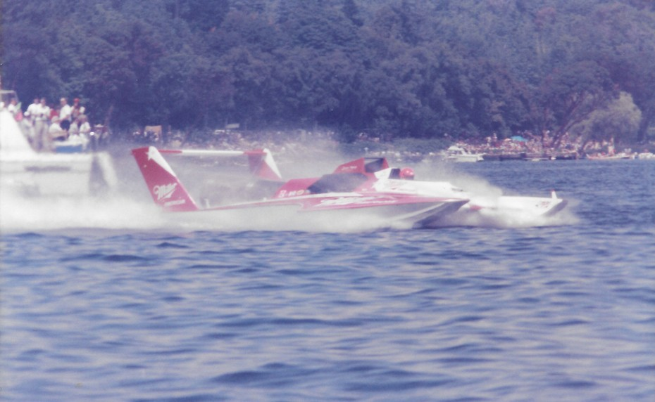 8-4-1985 Gold Cup Seattle  Miller American  1