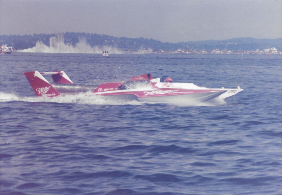 8-4-1985 Gold Cup Seattle  Miller American  2