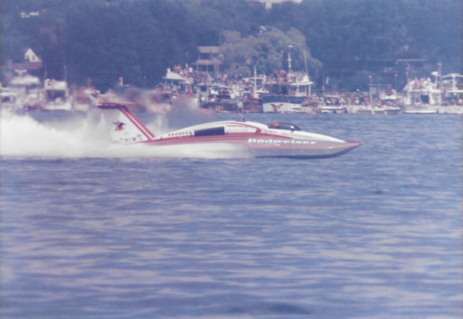 8-4-1985 Gold Cup Seattle  Miss Budweiser  6