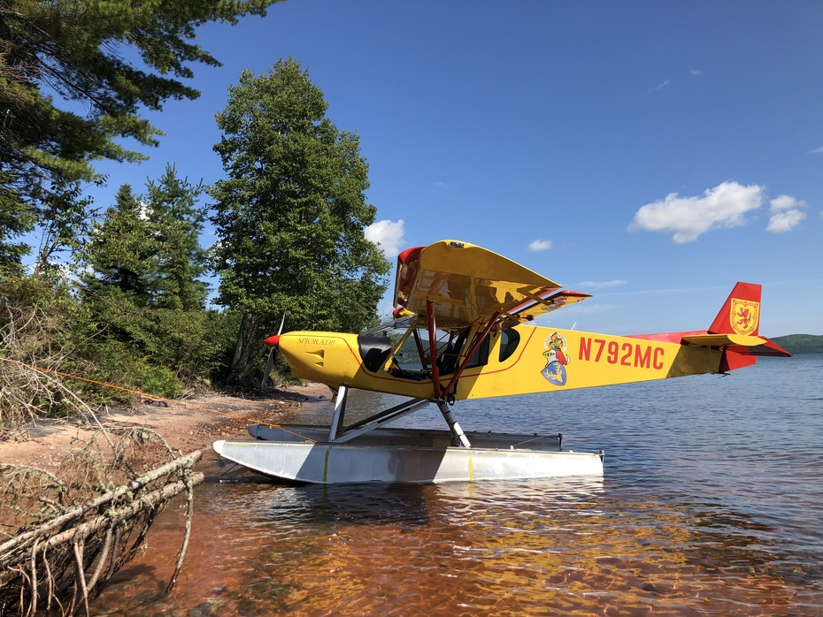 STOL CH 750 on Floats