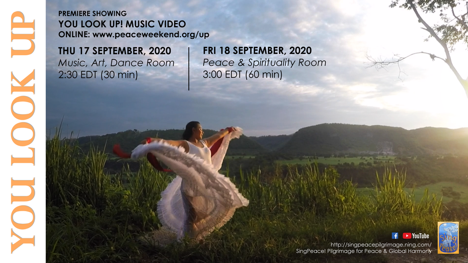 """""""You Look Up!"""" Music Video Premiere, Up Convergence 2020"""