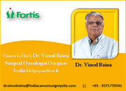 Cancer is Hard, Dr. Vinod Raina Surgical Oncologist Gurgaon India Helps you Beat It