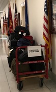 Trump Has Luggage Delivered To Nancy's Office