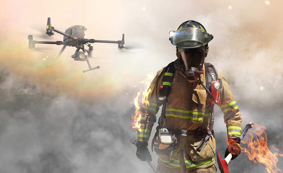 Drones for Fire Fighting | How Drones are Used by Firefighters