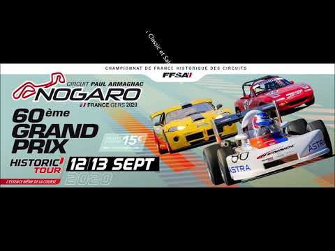 Historic Tour Nogaro - Course 2   GT Classic et Saloon Cars-  Porsche 968 turbo RS