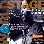 "RANDAL FISHER Ensemble ""Live"" @ The 'new' World STAGE [TONIGHT]"
