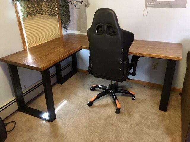 2x4 corner desk
