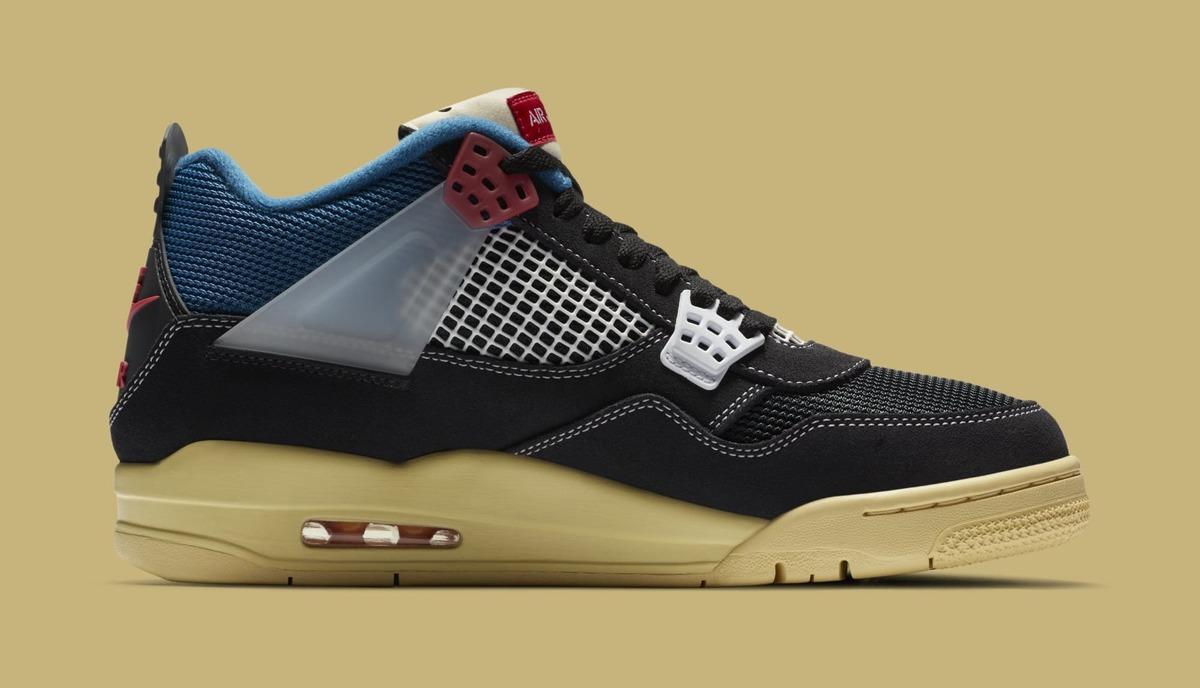 Peep Union's 'Off Noir' Air Jordan 4 Collab