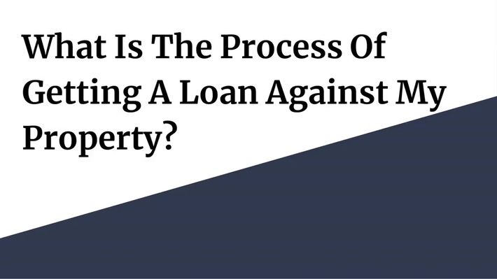 Loan Against Property - Term & Condition