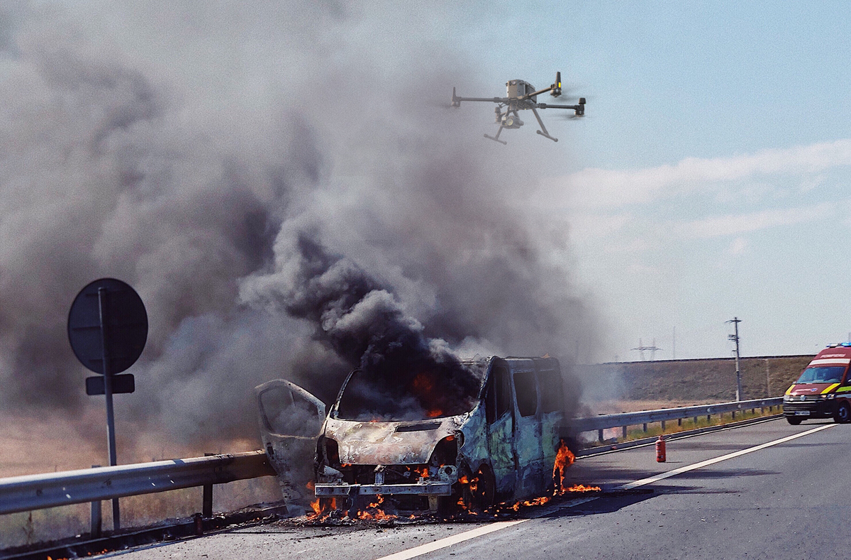 Drone Highway Patrol | How Drones are Used for Highway Emergencies
