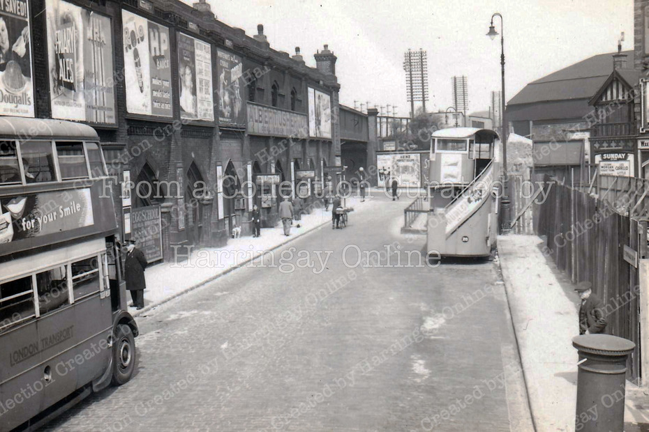 Station Place, Finsbury Park May 1939