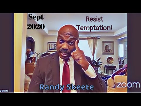 Sept 2020 - Randy Skeete - Resist Temptation