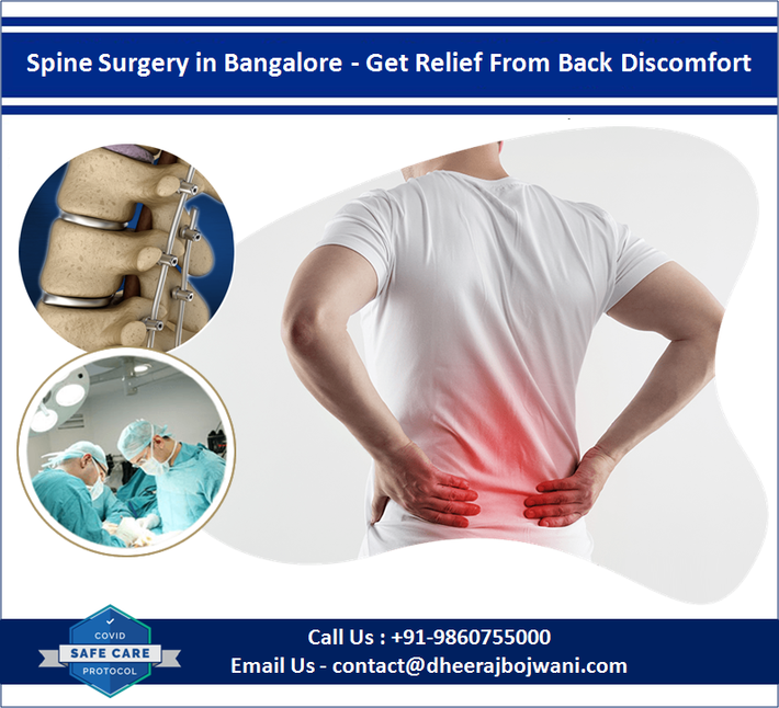 Get Relief From Back Discomfort with Spine Surgery in Bangalore