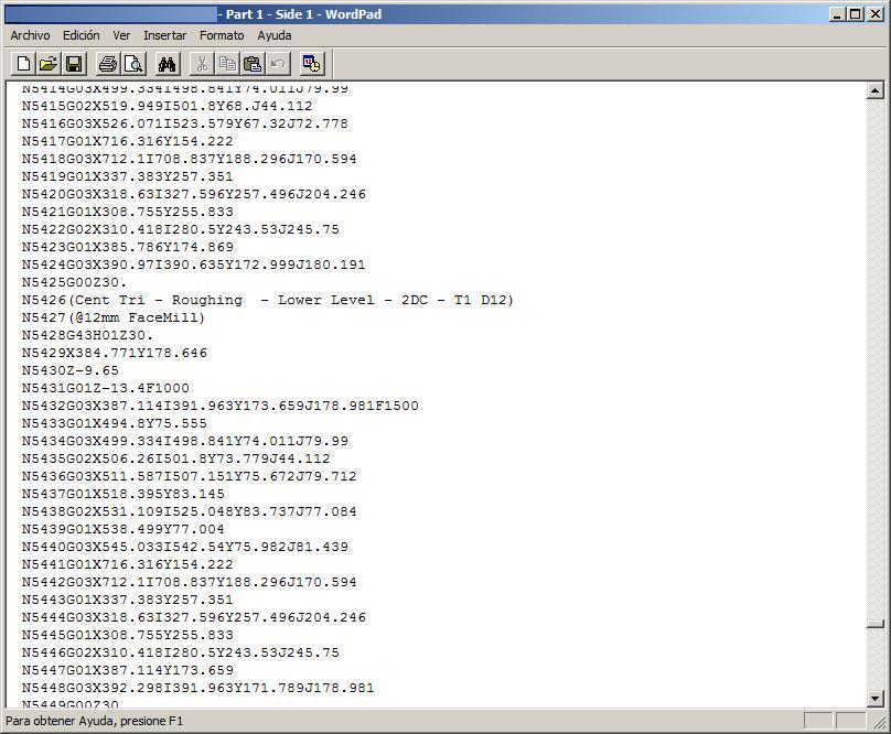 Offsite Prog - CNC1