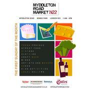 Community Garden stall at Myddleton Road Market tomorrow